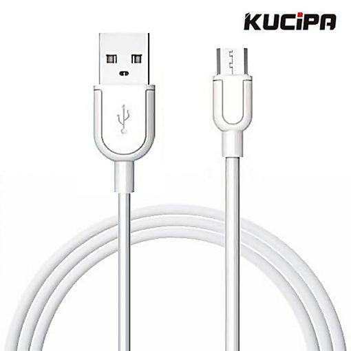 Kucipa K115 Souffle 1 Meter Fast Charging Data Cable - White