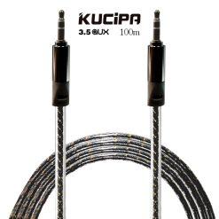 Kucipa 3.5 AUX Audio Cable 1 Meter - Black