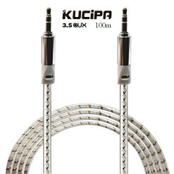 Kucipa 3.5 AUX Audio Cable 1 Meter - White