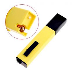 LCD Digital Pen shape PH Meter - Yellow