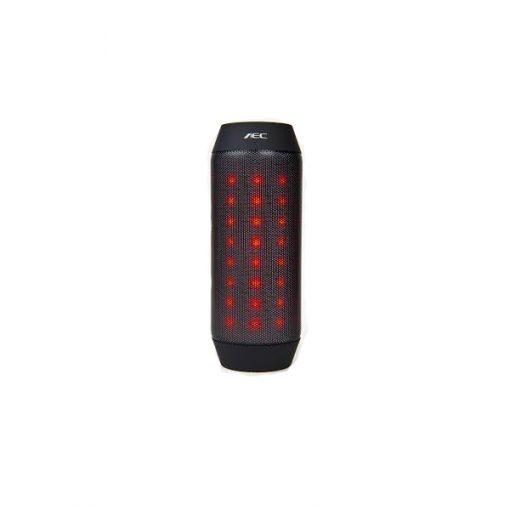 AEC Adjustable Light Color Bluetooth Speaker With MP3 Player And FM Radio – Black