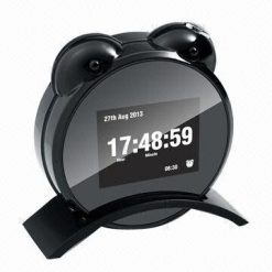 LED Alarm Clock With Full HD  Digital Video Recorder