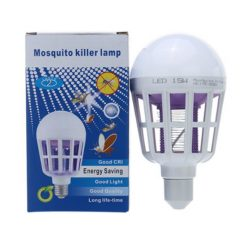 E27 LED Light With Mosquito Killer - White