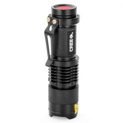 LED Pocket Torch Light With Adjustable Magnifying Lens