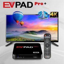 EVPAD Pro Plus Smart TV Box - Black