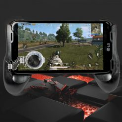 Gamepad With Analog Phone Controller Joystick Grip - Black