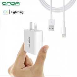 Onda A10 Fast Charger With Lightning Cable - White