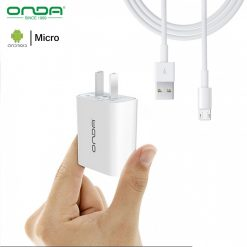 Onda A10 Fast Charger With Micro USB Cable - White