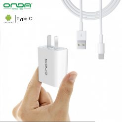 Onda A10 Fast Charger With Type-C Cable - White