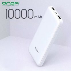 Onda C10 10000 mAh Powerbank - White