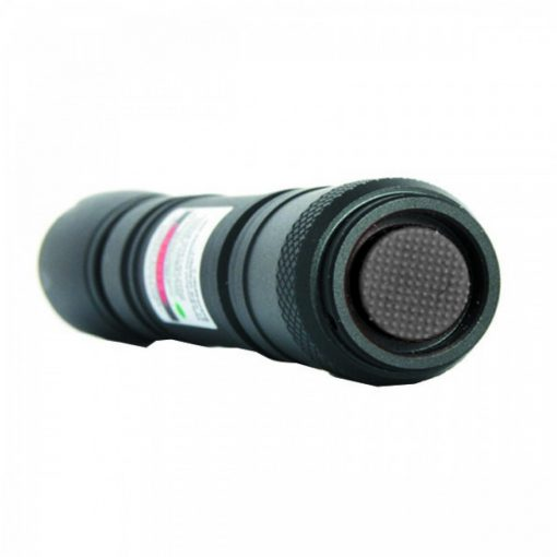200cmW 532nm Green Laser Pointer Pen - Black