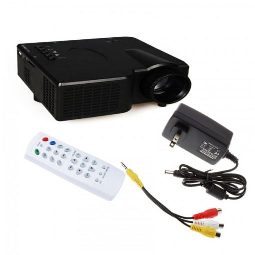40 Lumens LED Game Projector - Black