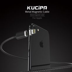 Kucipa K221 Lightning Magnetic Charging Cable - Black