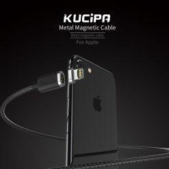 Kucipa K221 Lightning Magnetic Charging Cable - Black