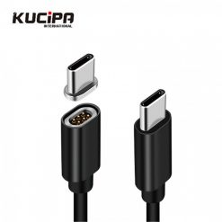 Kucipa K221 Type-C Magnetic Charging Cable - Black