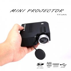 Mini UC28A Home Cinematic LED Projector - Black