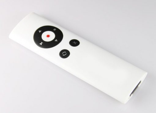 Presenter with Laser Pointer - White