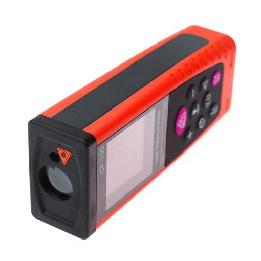 Portable Handheld 100M Laser Distance Meter - Red/Black