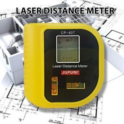 JUFINI CP-40T Laser Distance Meter Measuring Tool - Yellow
