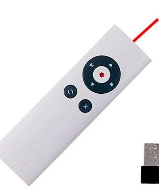 Presenter with Laser Pointer - White