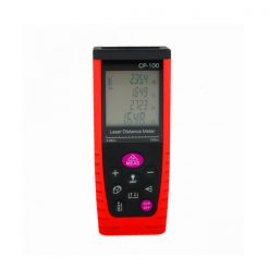 Portable Handheld 100M Laser Distance Meter - Red/Black