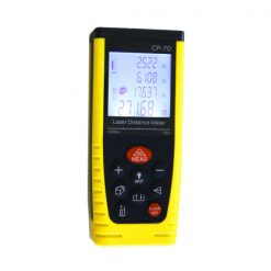 Portable Handheld 70M Laser Distance Meter - Yellow/Black