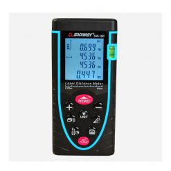 Portable Handheld SW-100 1.7 LCD Laser Distance Meter - Blue