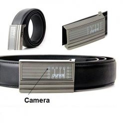 Leather Belt With 1080P Full HD  Digital Video Recorder and 8GB Internal Memory