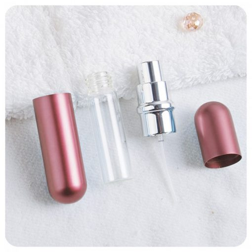 5ml Portable Refillable Perfume Atomizer - Rosegold