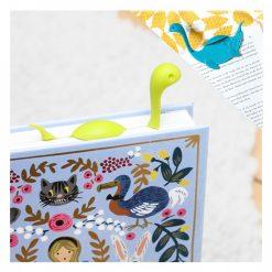 Nessie Tale Animal Shape Bookmark - Green