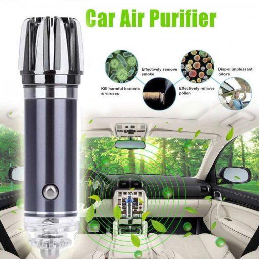 Car Freshener Air Purifier - Grey
