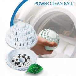 Eco Laundry Anion Molecules Cleaning Magic Washing Ball - White