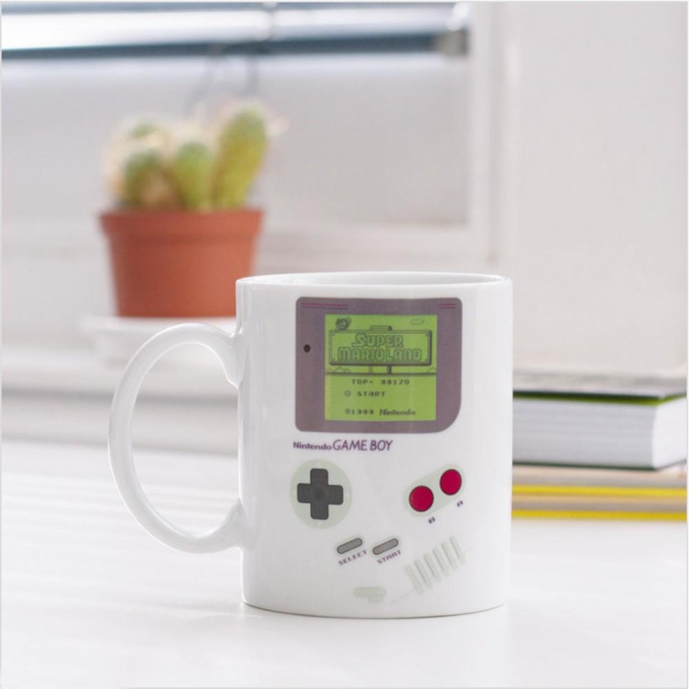 Game Boy Heat Sensitive Mug - White