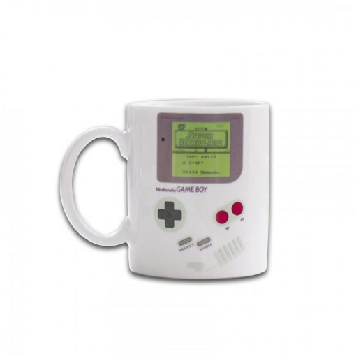 Game Boy Heat Sensitive Mug - White