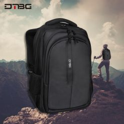 DTBG D8262 Water Resistant Laptop Bag - Black