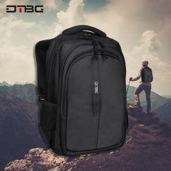 DTBG D8262 Water Resistant Laptop Bag - Black