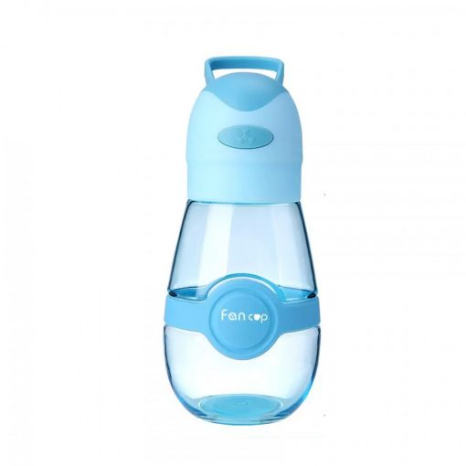 400 Ml Tumbler With Built In Rechargeable Fan - Blue