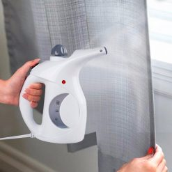 Dual Function Mini Portable Handy Garment Steamer - White