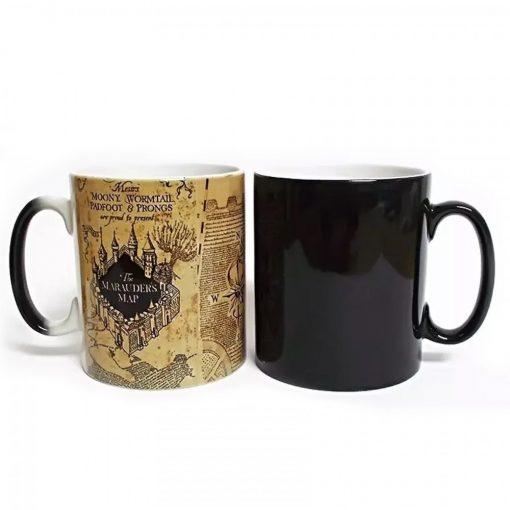 Harry Potter Marauder Map Heat Sensitive Mug