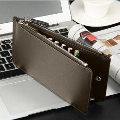Hengsheng Leather Card Holder Wallet - Brown