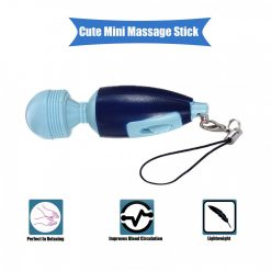 Mini Electric Massage Stick - Blue