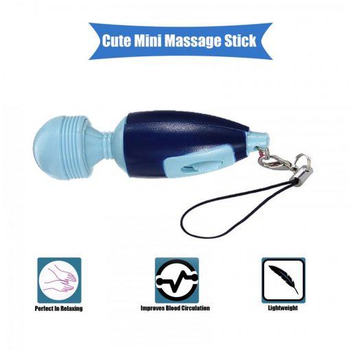 Mini Electric Massage Stick - Blue
