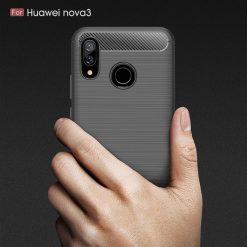 Huawei Nova 3i Fashion Fiber Case - Grey