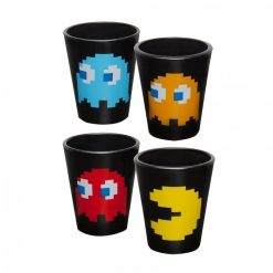 Pac-Man Shot Glass 4-Pack - Black