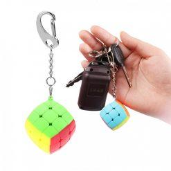 Qiyi Cube 3x3x3 Puzzle Keychain