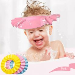 Baby Shower Cap - Pink