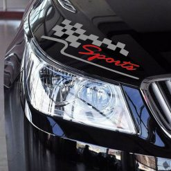 Racing Sports Flag Reflective Vinyl Car Sticker