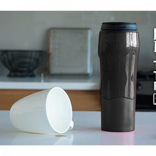 470 ml Suction Cup Magic Mug - Black