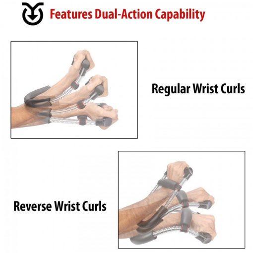 Adjustable Wrist Exerciser - Black