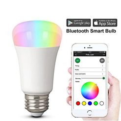 Multicolor APP Controlled Smart Wifi LED Bulb - White
